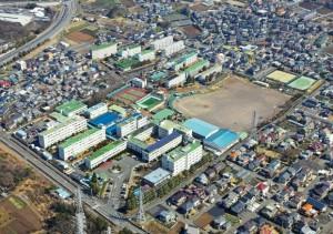 an aerial photograph