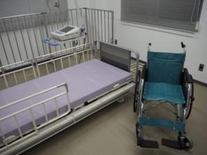 介護機器と心電計測器