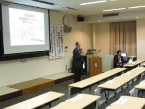 静岡化学工学懇話会 木村元彦 会長(写真左)の挨拶