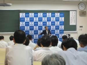 講演会風景 星幸広先生