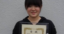 準優勝した伊藤優月さん