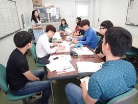 日本語研修風景(留学生選択教室Ⅰ)