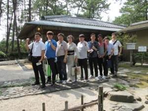 茶道体験(沼津御用邸記念公園)