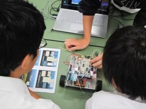 【沼津高専】中学生のための体験授業写真2