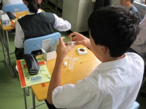 【沼津高専】中学生のための体験授業写真3
