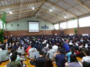 学生総会の様子
