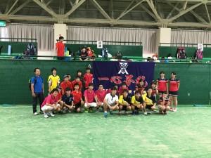 沼津高専テニス部 集合写真