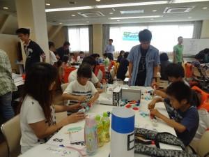 3Dブロックロボット教室(1)