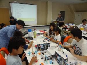 3Dブロックロボット教室(2)