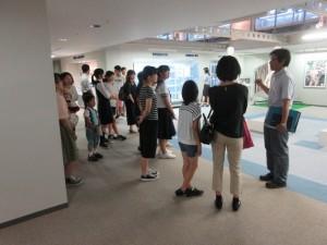 東レ企業文化フロア見学ツアー
