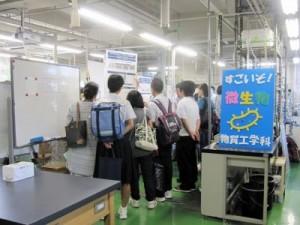 学科展示等の様子(1)