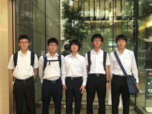 参加した本校の学生