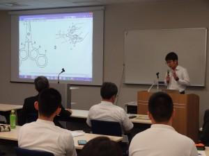 学生発表 川嶋くんの班