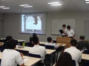 学生発表 鈴木涼太くんの班