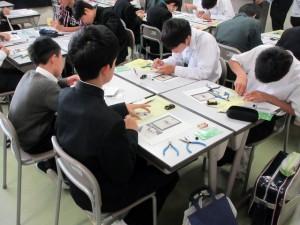 体験授業の様子(1)