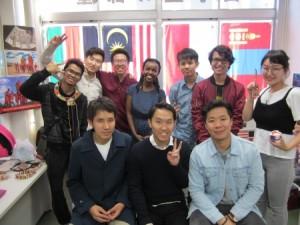 沼津高専の留学生たち(OB含む)