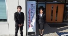 出場した鈴木君(左)と高須さん(右)