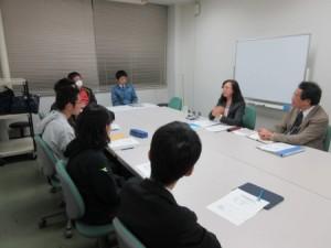 高澤先生による講義