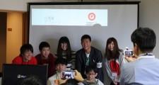アプレッソ企業賞を受賞した本校の平田さん含む5名