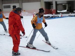 スキー教室風景1