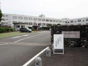検査当日の沼津高専