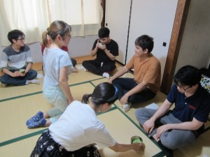 日本文化体験(茶道)