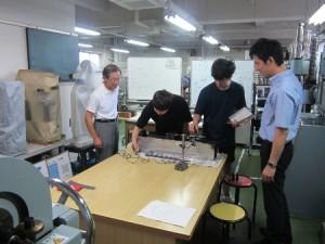 研究指導(材料力学実験室)