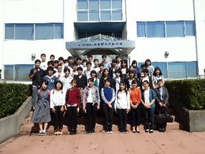 物質工学科 海洋研究開発機構横須賀本部にて