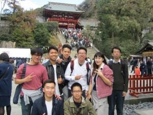 研修旅行風景Ⅰ(鶴岡八幡宮)