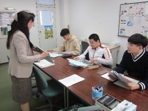 日本語研修(留学生選択教室Ⅰ)