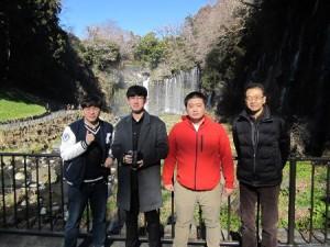 研修旅行(白糸の滝)