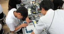 (体験授業:電気電子工学科)