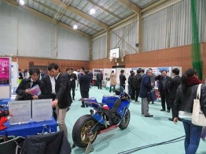 沼津高専卒業による企業展示